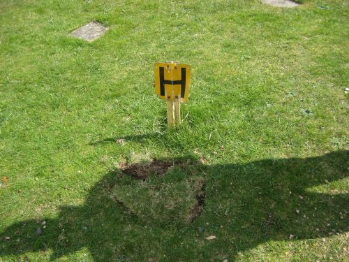 Hydrants – Hidden hydrant found and serviced