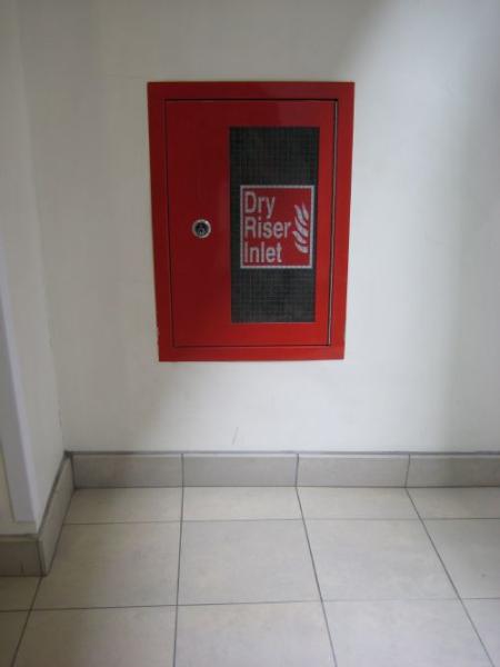 Dry Riser – Internal inlet