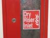 Dry Riser – External inlet